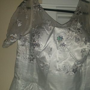 Gorgeous Silver Formal Gown